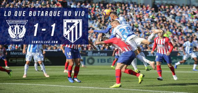 Lo que Butarque no vio del Leganés – Atlético