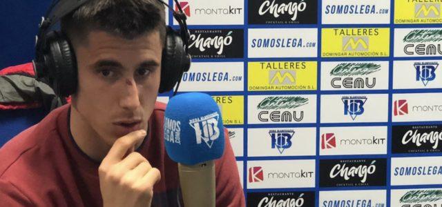 """Unai Bustinza: """"Para mí sería bonito continuar en el C.D. Leganés"""""""