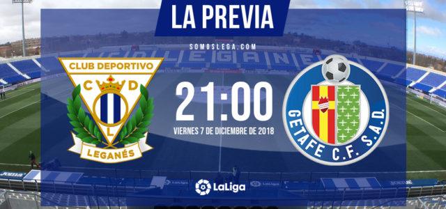 Leganés – Getafe: derbi caliente entre dos equipos en racha