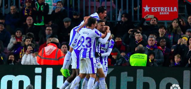 El Leganés no pudo con el 'Varça'