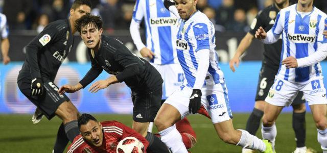 El Leganés murió en la orilla (1-0) ante el Real Madrid