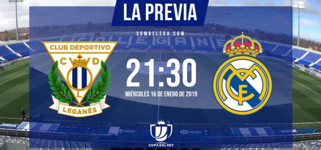 Leganés-Real Madrid: noche de épica o realidad