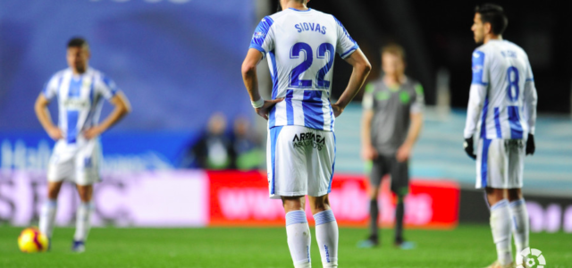 La Real golea a un Leganés irreconocible