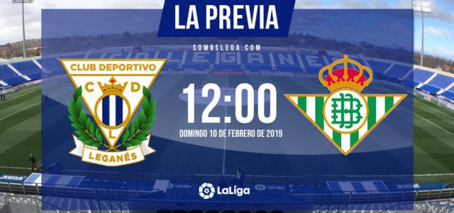 Leganés – Betis: A confirmar el impulso de Vallecas