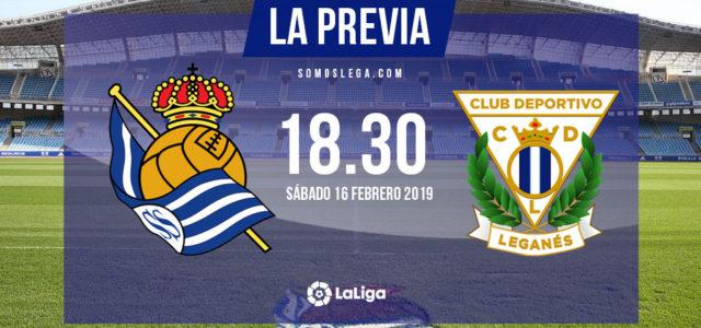 Real Sociedad – Leganés: Centenario en Anoeta