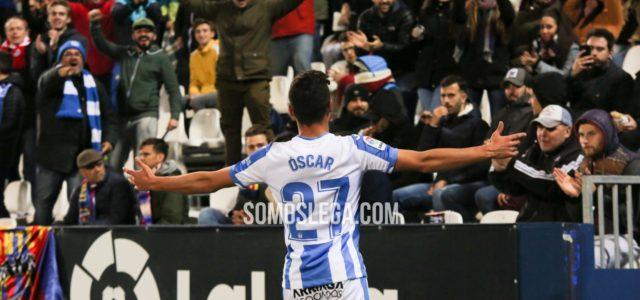 Exhibición de Óscar (1-0) para acabar con el Levante