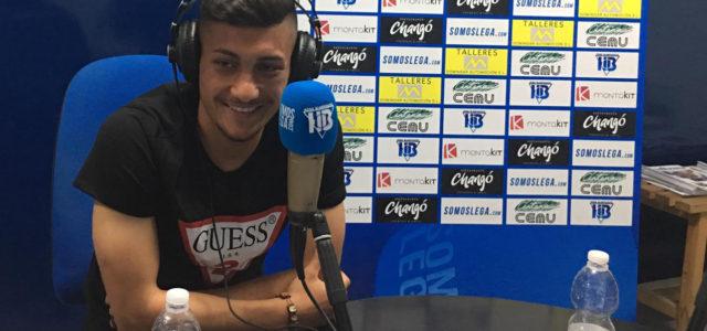 """Óscar Rodríguez: """"El Leganés es un equipo que nunca se rinde y eso me gusta"""""""