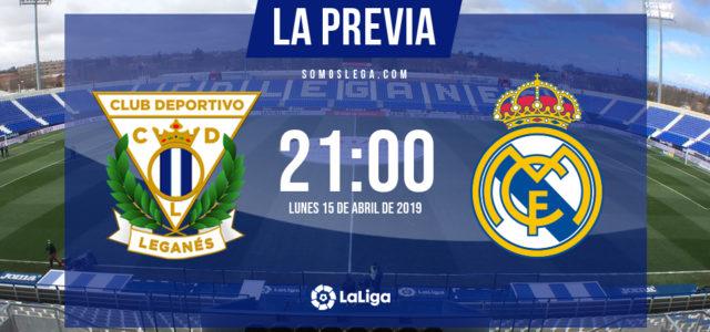 Leganés – Real Madrid: por el escudo… y la camiseta