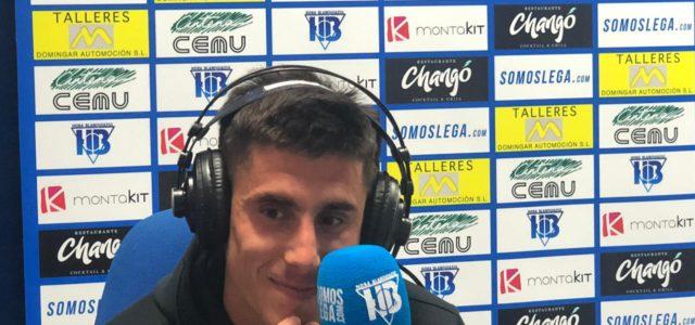 """Unai Bustinza: """"El Athletic me ha criado pero me he hecho profesional en el Leganés"""""""