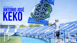 """Keko: """"Leganés me parece grandioso; somos diferentes al resto de España"""""""