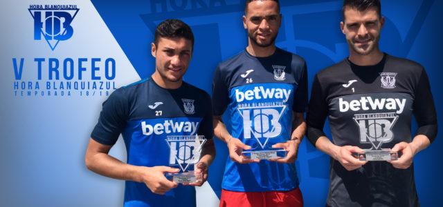 En-Nesyri se lleva el premio al mejor jugador de la temporada