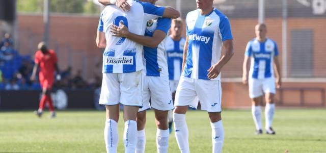 Sabin Merino y Ruibal dan la primera victoria al Leganés
