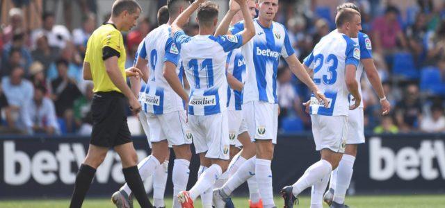 Sabin y Gumbau permiten al Leganés estrenarse con empate (2-2) ante el Rayo