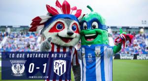 Lo que Butarque no vio del Leganés – Atlético de Madrid