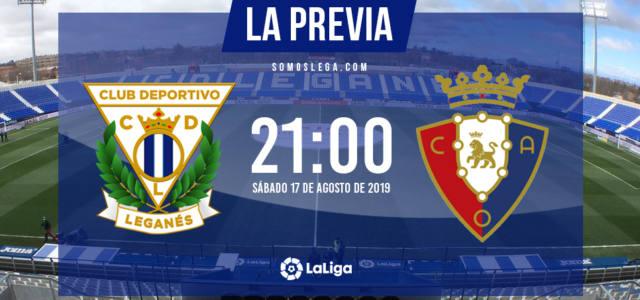 Leganés – Osasuna: Butarque, 'al rojillo vivo'