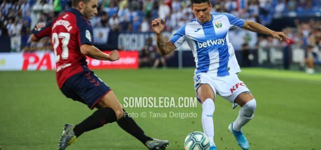 El Leganés se queda en fuera de juego (0-1) ante Osasuna