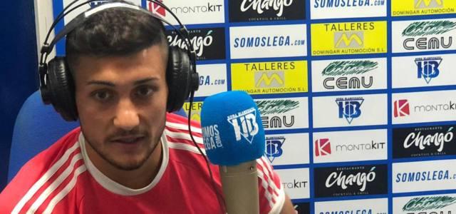 """Óscar Rodríguez: """"Creo que cuando llegue una victoria empezaremos a ir para arriba"""""""
