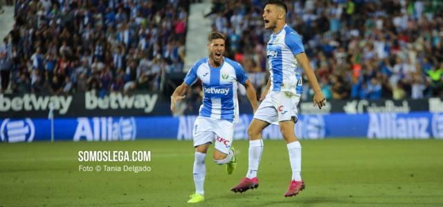 Óscar levanta a Butarque para que el Leganés siga sumando (1-1)