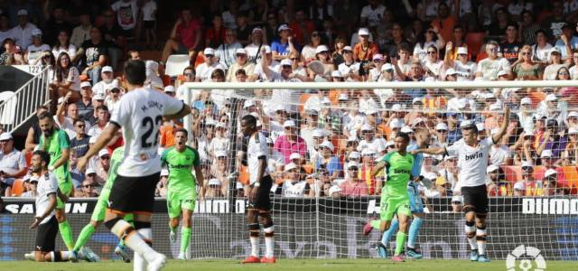 El Lega estrena su casillero en Mestalla con un empate