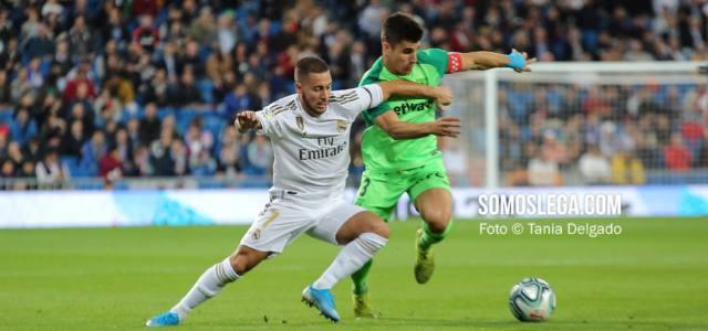 El Real Madrid vapulea con una manita a un triste Leganés