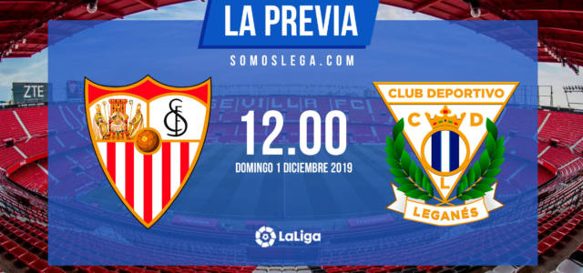 Sevilla – Leganés: A la tercera va la vencida