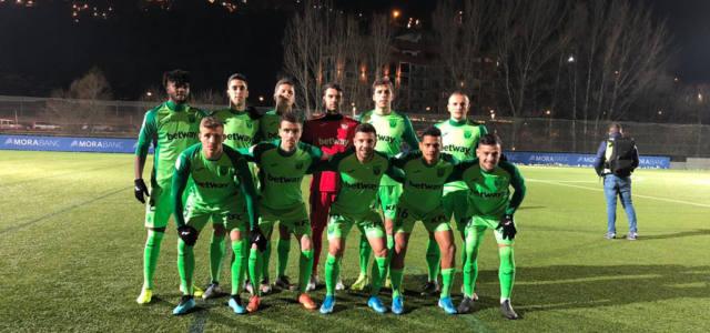 El Leganés pasa de ronda sufriendo en los penaltis ante el Andorra