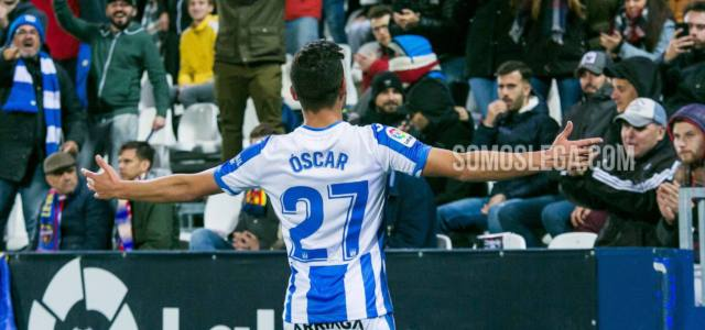 Óscar, máximo goleador del Lega en Primera