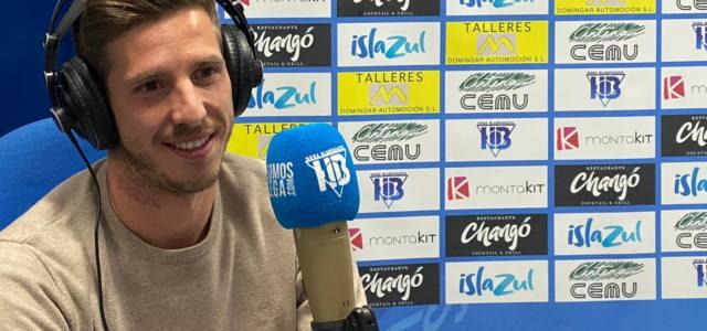 "Rubén Pérez: ""Tenemos que aprovechar esta buena dinámica para el derbi"""