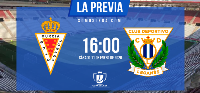 Murcia-Leganés: Una Copa de fin de semana