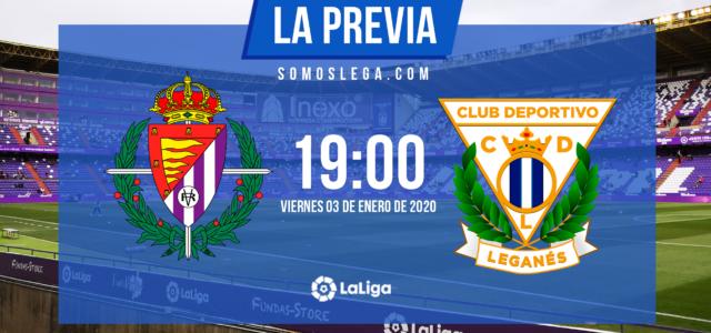 Valladolid- Leganés: Necesidad de triunfo antes de cerrar la primera vuelta