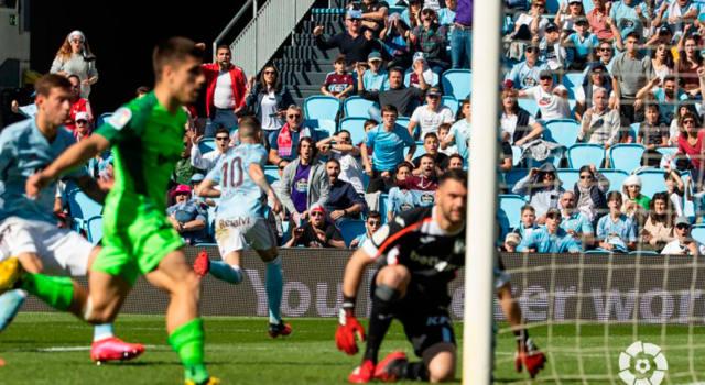 El Leganés se inmola (1-0) en Balaídos
