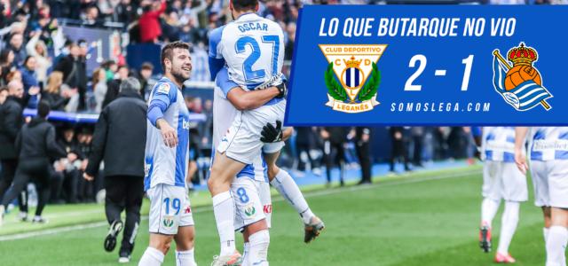 Lo que Butarque no vio del Leganés – Real Sociedad