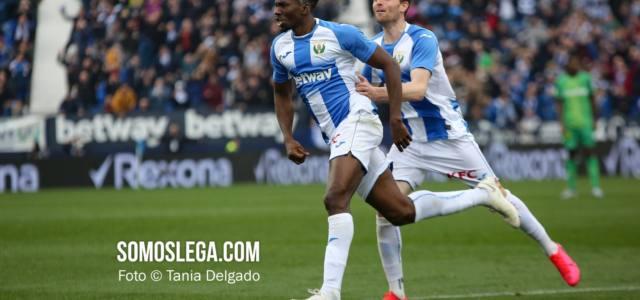Un pepinazo de Óscar (2-1) saca al Leganés del descenso