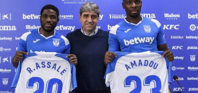 Roger Assalé e Ibrahim Amadou, presentados como blanquiazules