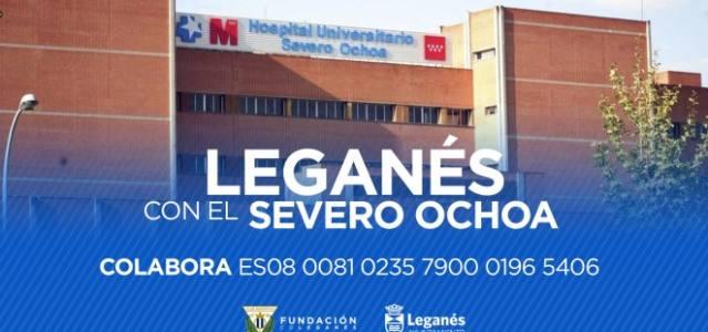 La Fundación C.D. Leganés, habilita una cuenta para ayudar al Severo Ochoa