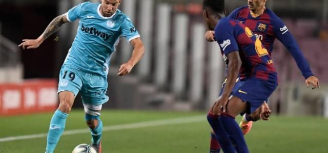 El Leganés cae con dignidad en el Camp Nou