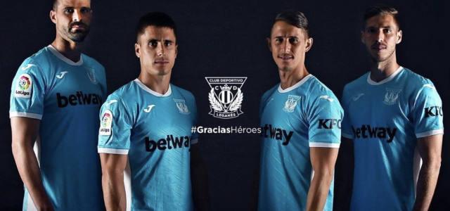 El Leganés estrenará una camiseta homenaje a los héroes que luchan contra el Covid-19