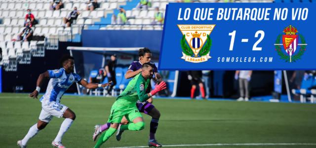Lo que Butarque no vio del Leganés – Valladolid