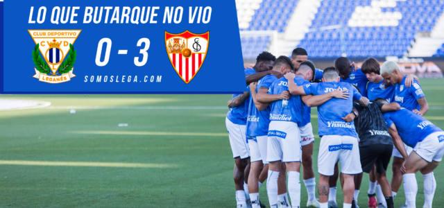 Lo que Butarque no vio del Leganés – Sevilla