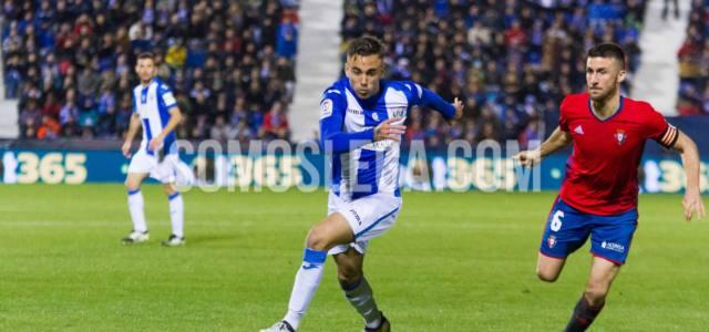 Robert Ibáñez vuelve a Leganés cedido por Osasuna