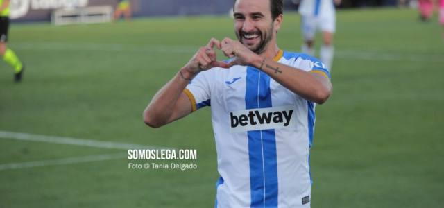 Juan Muñoz da la primera victoria al Leganés