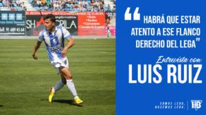 """Luis Ruiz: """"Habrá que estar atento a ese flanco derecho del Lega"""""""