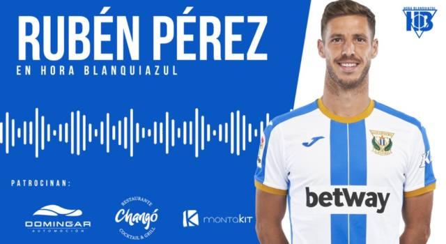 """Rubén Pérez: """"Nadie nos tiene que decir cuál es nuestro objetivo""""."""