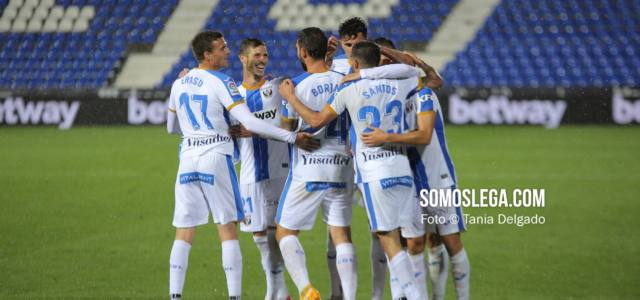 El Leganés cierra una semana fantástica ganando al Real Oviedo