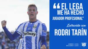 """Rodri Tarín: """"El Lega me ha hecho jugador profesional"""""""