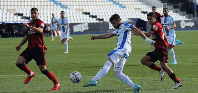 Arnaiz, con otro golazo, da la victoria al Leganés ante el Mirandés