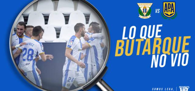 Lo que Butarque no vio del Leganés – Alcorcón