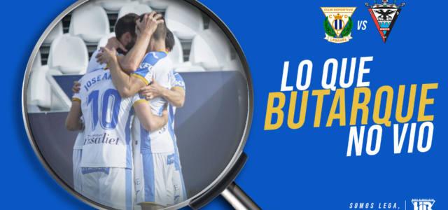 Lo que Butarque no vio del Leganés – Mirandés