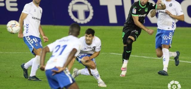 Tenerife y Leganés se olvidan del gol y se reparten los puntos