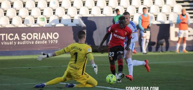 El Mallorca asalta Butarque ante un Leganés con uno menos